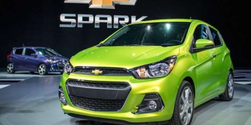 2017 Chevy Spark Hybrid front